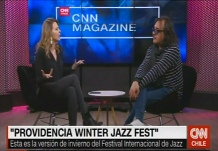 VIDEO | Entrevista CNN Magazine a Nelson Laplagne, Director de ChileJazzFest